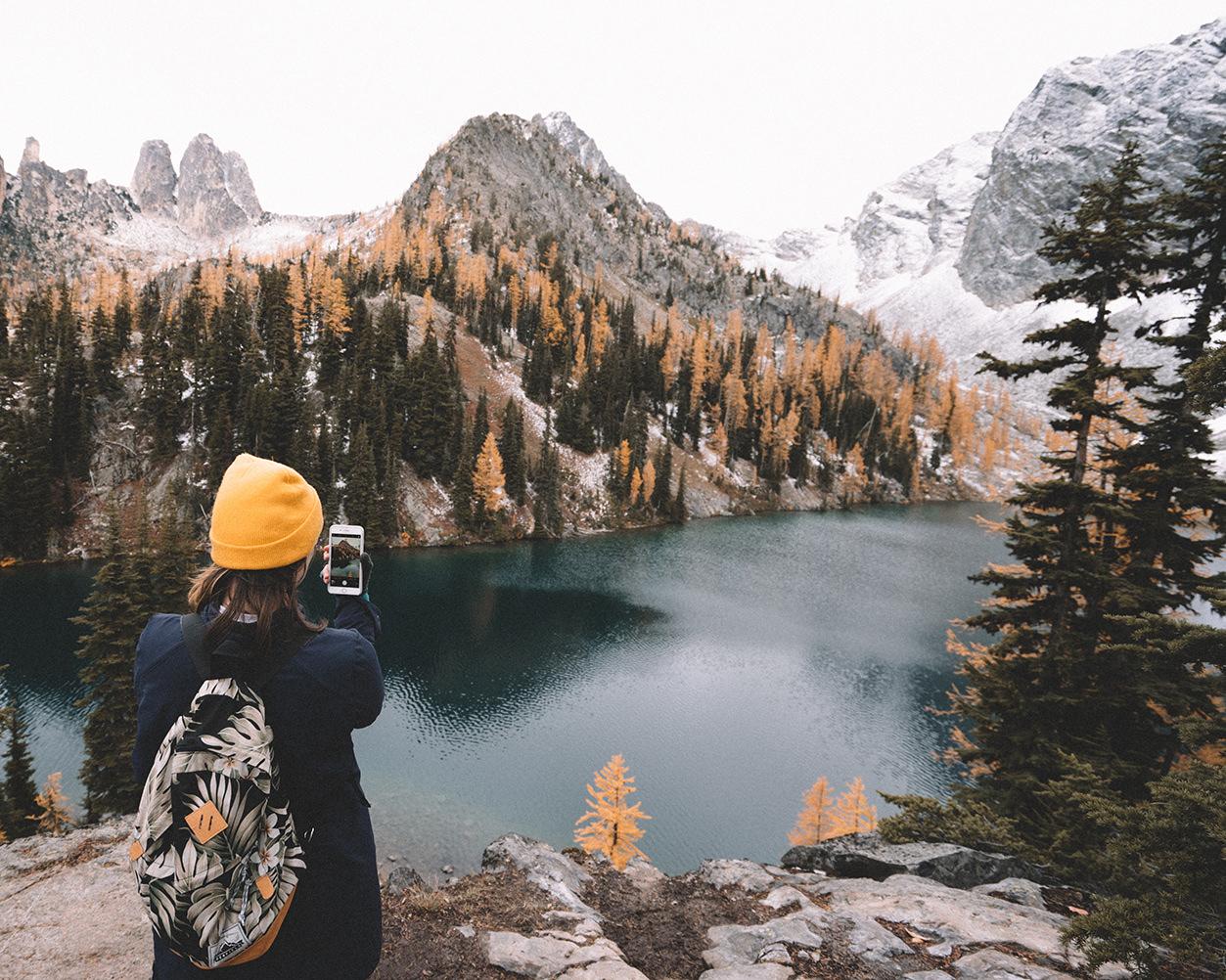 Fotografando paisagem com smartphone