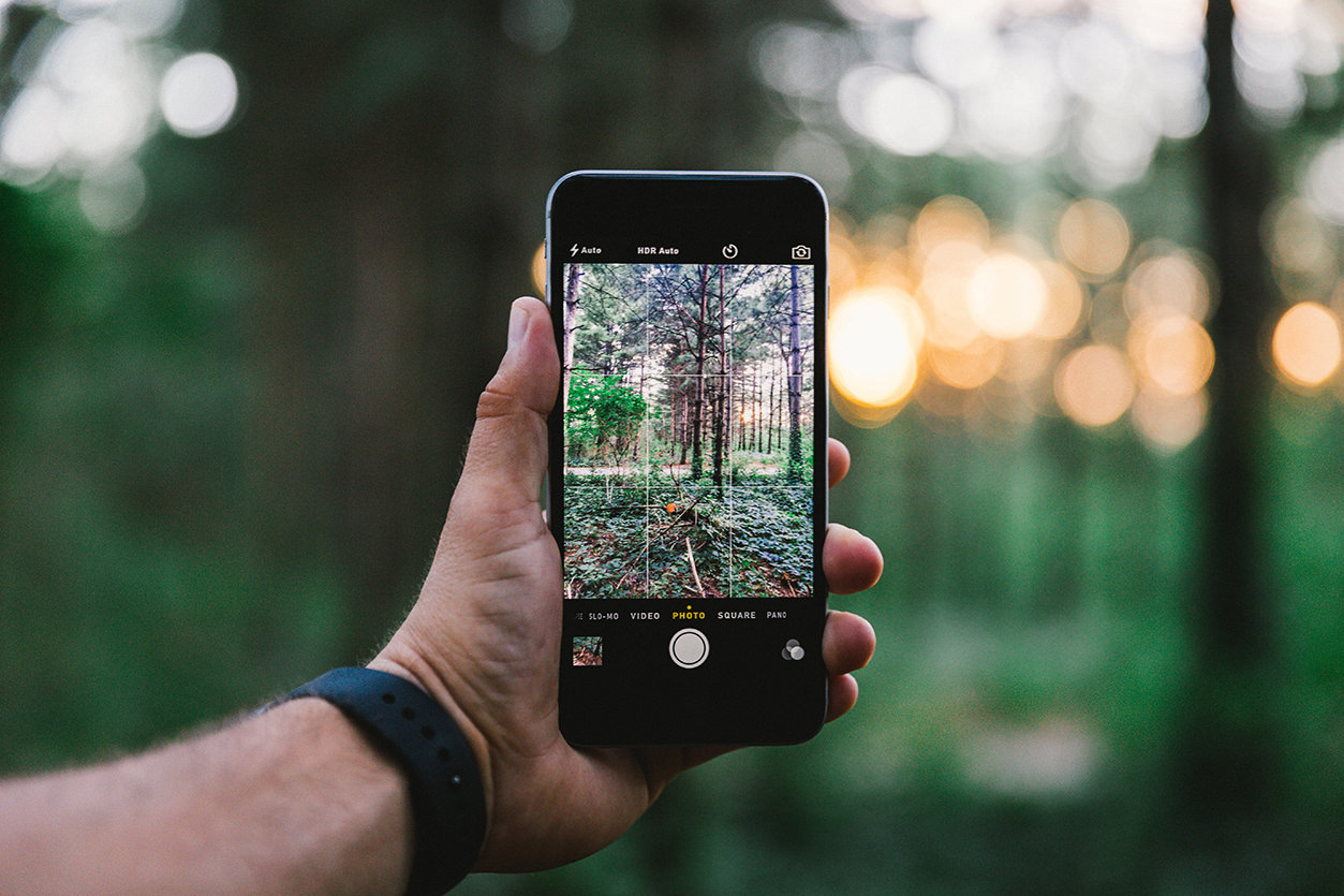 Câmera Smartphone Grid Terços